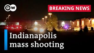8 killed in mass shooting at Indianapolis FedEx warehouse | DW News