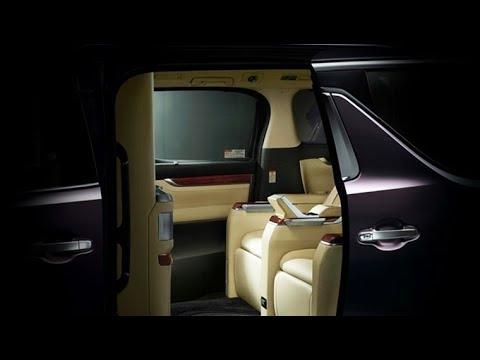 最上級ミニバン レクサスLM 内装、スペック、価格予想