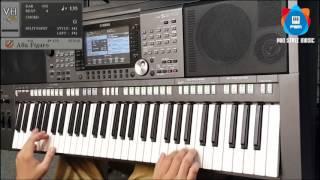 Alla Figaro - Yamaha Keyboard Covered