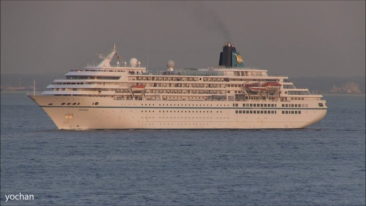 Cruise Ship Passenger Ship AMADEA Phoenix Reisen IMO - Amadea cruise ship itinerary