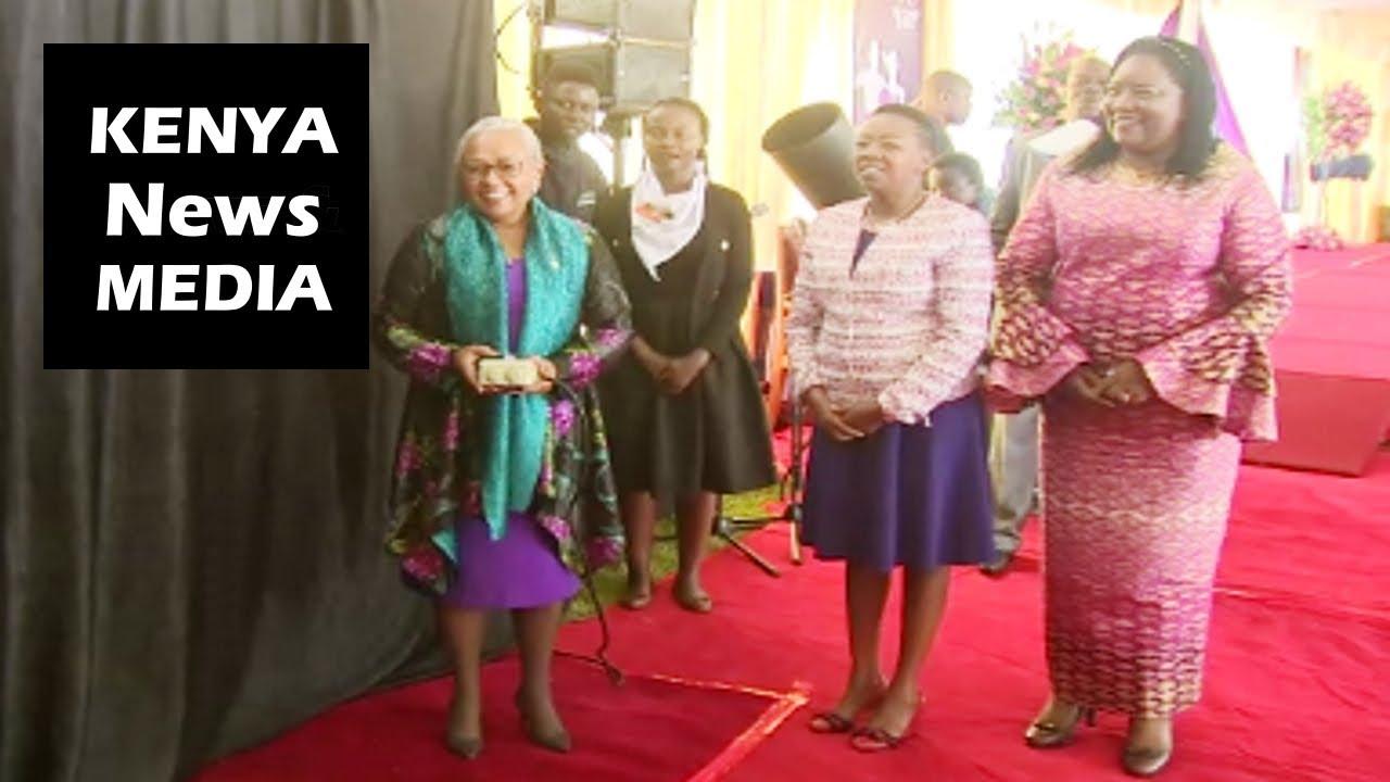 First Lady Margaret Kenyatta RELAUNCH the Beyond Zero Marathon!!!
