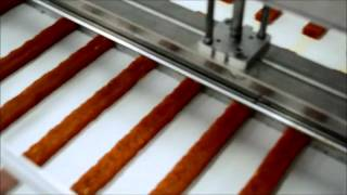 Производство батончиков в шоколаде (шнэковая машина и глазировочная линия)(, 2014-07-29T13:35:08.000Z)