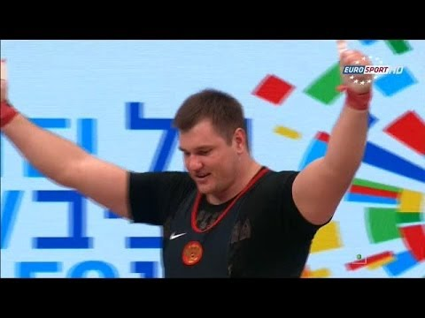 2014 European Weightlifting Championships Men's +105 kg  Snatch + Clean and Jerk, Tel Aviv , Israel