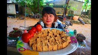 Cooking skills | tofu tomato sauce | survival skills. HT