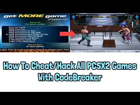 How To Cheat/Hack All PCSX2 Games With CodeBreaker - YouTube