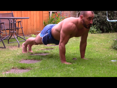 Royal Marines Press Up Test