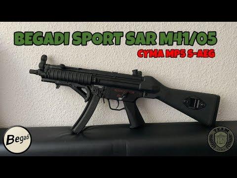 BEGADI/CYMA SAR M41/05 MP5 Festschaft Review Deutsch/german