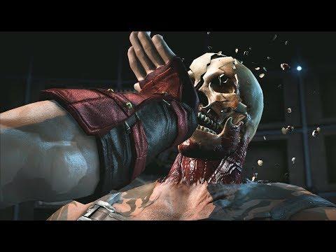 MORTAL KOMBAT X Combos | Liu Kang X Ray Special Move thumbnail