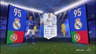 OMG! Ronaldo 95 TOTGS im Pack!!!!!!!!!!!!