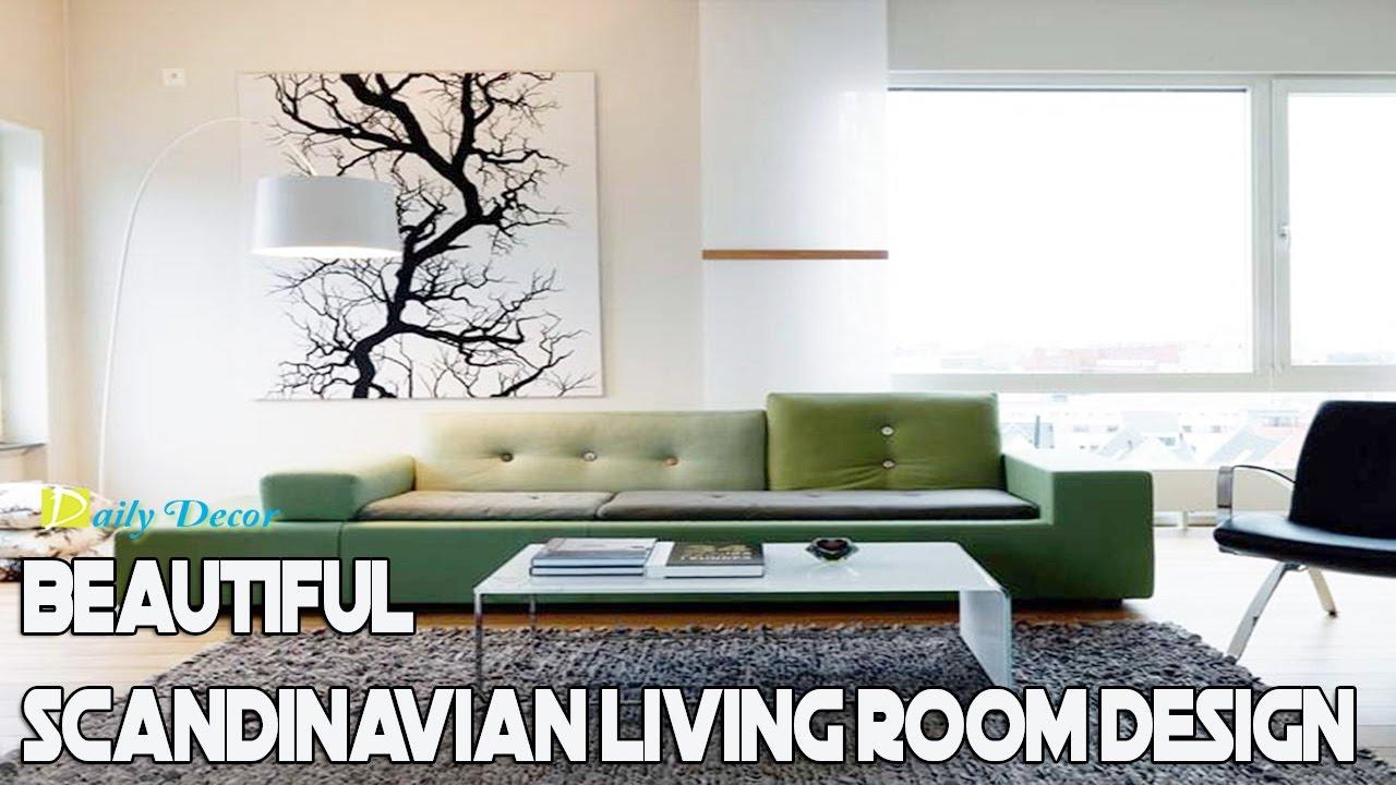 Daily Decor Beautiful Scandinavian Living Room Design Ideas