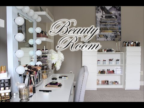 Beauty Room Tour + Makeup Collection!