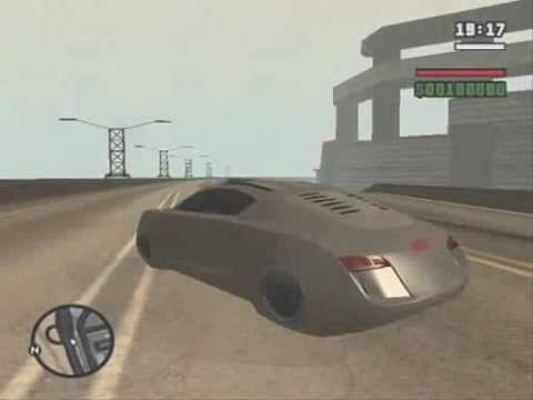 GTA-SA MOD: i,ROBOT 2004 Audi RSQ