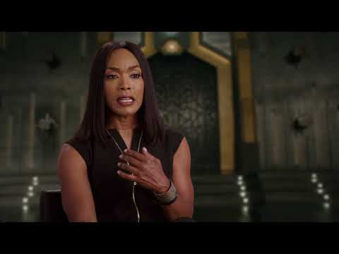 "Black Panther ""Ramonda"" Interview - Angela Bassett"