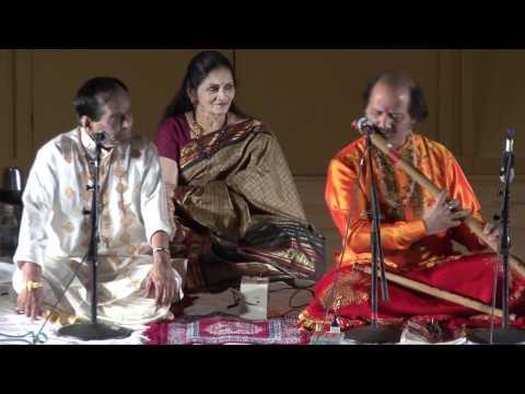 Vedic Cultural Center - JUGALBANDI Mangalampalli Balamurali Krishna & Ronu Majumdar - Part I