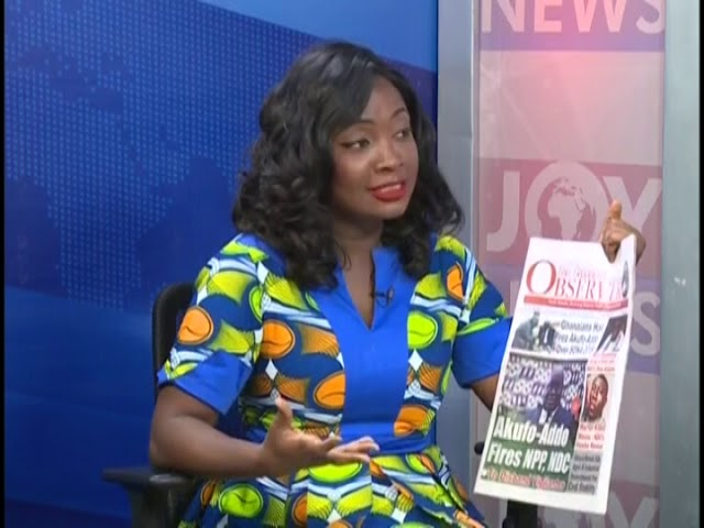 Let's Come Together To Stop Vigilantism - AM Show Headlines on JoyNews (22-2-19)