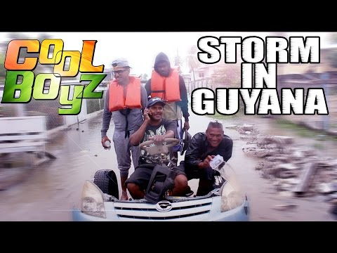 Storm In Guyana - CoolBoyzTV