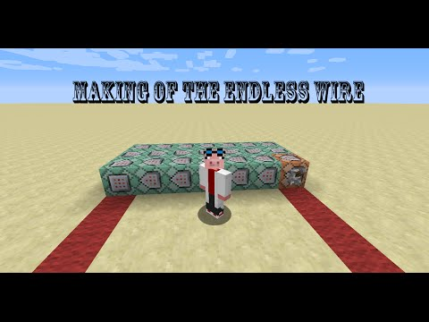 Creating a Redstone Tutorial   Making of the Endless Wire Episode 1