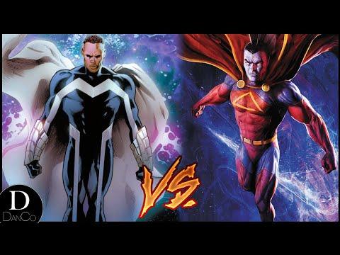 Blue Marvel VS Gladiator | BATTLE ARENA