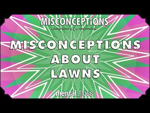 Misconceptions about Lawns - mental_floss on YouTube (Ep. 18)
