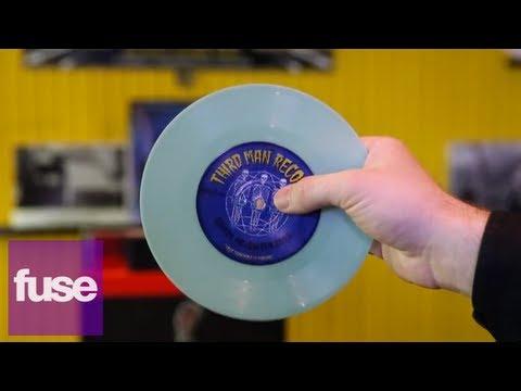 Jack White's Third Man Records Tour United Records Pressing Plant