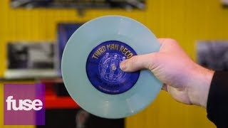 Jack White's Third Man Records Tour United Records Pressing Plant