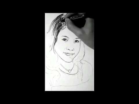 วาดรูป การ์ตูน ผู้หญิง น่ารักๆ ผมหยัก (น้องจิ๊บ) - How To Draw People #01