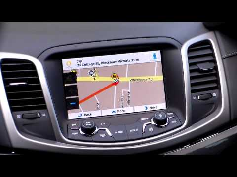 Holden VF Commodore GPS / Satellite Navigation Upgrade 2013+