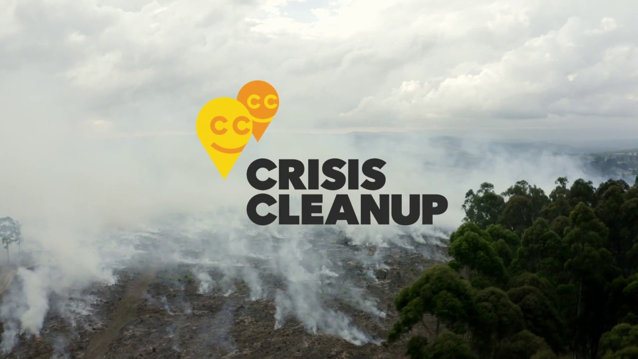 Crisis Cleanup video