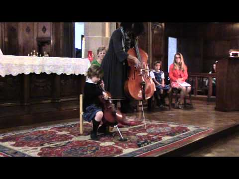 DSO Strings- The Grosse Pointe Academy students preform in Chapel