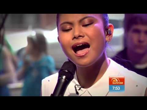 Marlisa Punzalan - Stand By You - Live On Sunrise (10/11/2014)