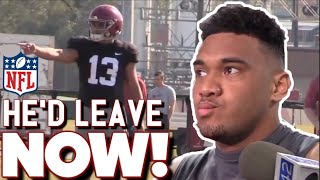 Tua Tagovailoa OPENS UP about the NFL Draft rules