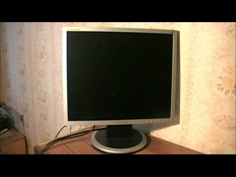 LCD монитор Samsung 940N. Ремонт