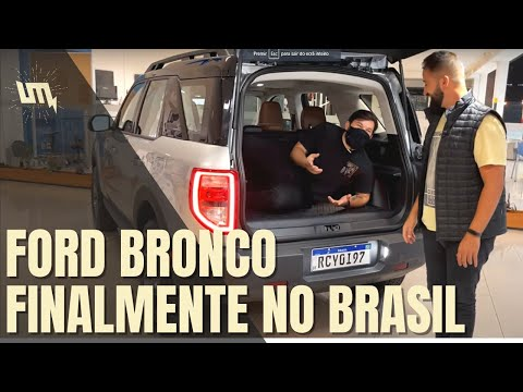 FORD BRONCO 2021: tudo sobre o novo SUV