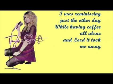 Holy Ground Taylor swift lyrics