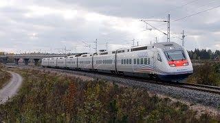Trains at Kytömaa and Kyrölä | Junia Kytömaalla ja Kyrölässä [FullHD]