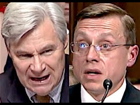 """COME ON!!! DON'T KID ME!!!"" Sheldon Whitehouse GETS PISSED OFF & DESTROYS Trump Nominee"