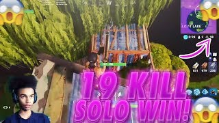 INSANE 19 KILL SOLO WIN on Fortnite Battle Royale • Trap Last Kill