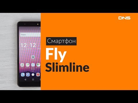 Распаковка смартфона Fly Slimline / Unboxing Fly Slimline