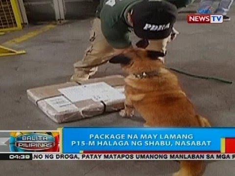 BP: Package na may lamang P15-M halaga ng shabu, nasabat