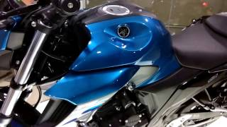 all new bs4 yamaha fz250 walk around first look and exhaust sound
