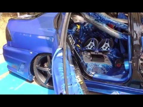 HONDA CIVIC VTEC, Tuning modificado, Sonido Sobre Ruedas 2014
