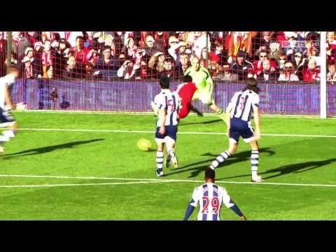 Liverpool vs Tottenham 4 0 ~ Luis Suarez   The Best Player EPL 2013 14   Sky Sports 720p