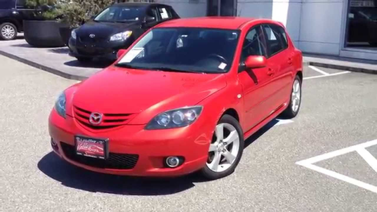 sold 2005 mazda mazda3 sport gt preview at valley toyota scion in chilliwack b c 14839c [ 1280 x 720 Pixel ]