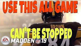 NO DEFENSE FOR THIS! UNSTOPPABLE MONEY PLAY SCHEME THAT YOU CAN RUN ALL GAME! MADDEN 19 TIPS