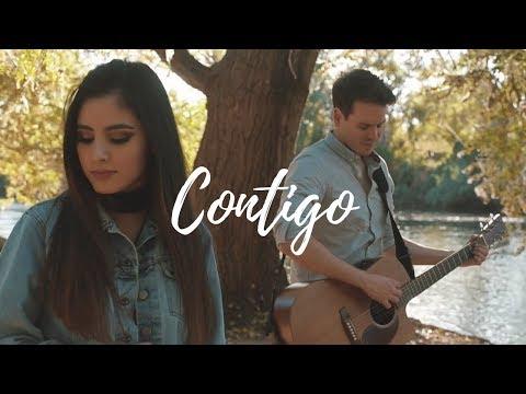 Contigo - Río Roma (Fede Bracamontes & María Alexia) Cover