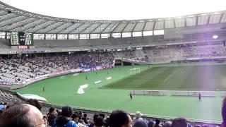 2012年3月11日に行われたJ2第2節東京ヴェルディ対ヴァンフォーレ甲府戦...