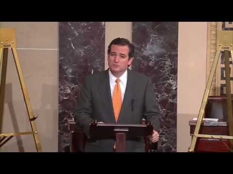 Sen. Cruz: Minimum Wage Act Kills Jobs; American Energy Renaissance Act Creates Jobs