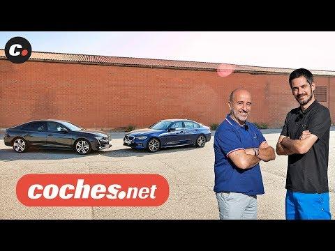 BMW Serie 3 vs Peugeot 508 | Prueba / Test / Review en español | coches.net