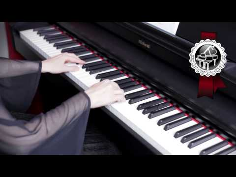 """""""Au Clair De La Lune"""" (""""By The Light Of The Moon"""") French Folk Song Piano Version"""