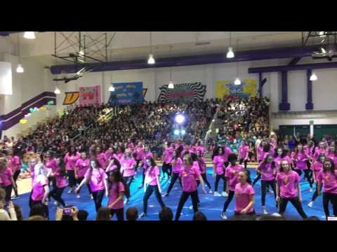 Valencia High School Sprolic Rally 2017 - Hip Hop (Beyoncé Tribute)